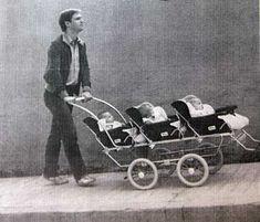 Pram Stroller, Baby Strollers, The Waltons Tv Show, Walton Family, Triplet Babies, Richard Thomas, John Boy, Vintage Pram, Prams And Pushchairs