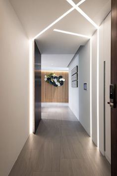 Taichung House by Golden Beauty Design. Clever lighting idea