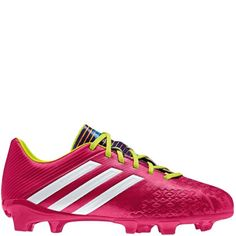 new arrival b32a4 69da0 adidas Predator Absolado LZ TRX FG J - Samba Pack - Vivid Berry Running  White Solar Slime Youth Soccer Cleats - model F32588