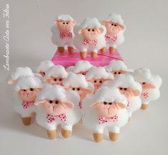 Lembrancinha Ovelhas