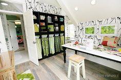 craft room / sewing room