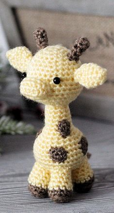 Cute and Amazing Amigurumi Crochet Pattern Ideas Part amigurumi patterns free; amigurumi to go; amigurumi eyes Giraffe Cute and Amazing Amigurumi Crochet Pattern Ideas Part 35 Crochet Giraffe Pattern, Crochet Sheep, Crochet Animal Patterns, Crochet Patterns Amigurumi, Stuffed Animal Patterns, Crochet Animals, Kawaii Crochet, Cute Crochet, Crochet For Kids