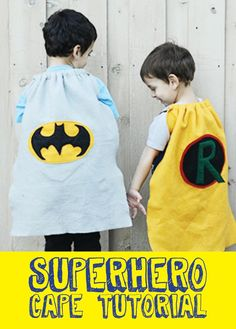 Any boy's mom can tell you that capes are an integral part of little boy life. My boys have lots of them, in all different colors, because sometimes you ne