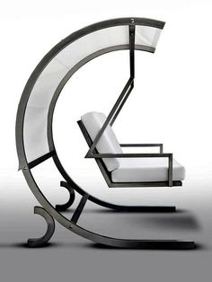 modern garden swing by Mariateresa Casarola for CAGIS