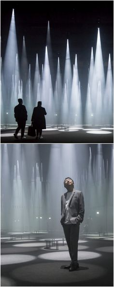 "Sou Fujimoto installs a ""Forest of Light"" for COS at 2016 Salone del Mobile Site Art, Sou Fujimoto, Cos, Concert, World, Artwork, Work Of Art, Auguste Rodin Artwork, Concerts"