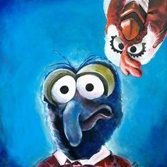 Image result for muppet art