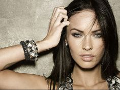 The Lovely Megan Fox...love the bracelets.