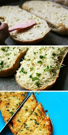 Food: Garlic Cheese Bread