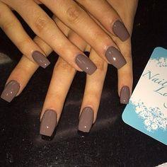 Fall nail colors Beauty and Personal Care - Makeup - Nails - Nail Art - winter nails colors - Gorgeous Nails, Love Nails, Pretty Nails, Cute Nails For Fall, Simple Fall Nails, Colorful Nail Designs, Fall Nail Designs, Brown Nail Designs, Fall Nail Ideas Gel