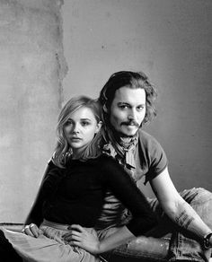 Chloe Moretz reminds me so much of Johnny Depp in some of her movies. They both are so talented! #johnnydepp #chloemoretz
