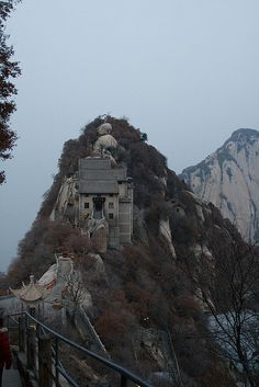 Climbing Hua Shan Mountain - Shaanxi China