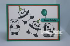 Stampin' Pals: Panda Party - 2018 Sale-a-bration