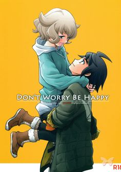 Gundam Iron Blooded Orphans LOVE Doujinshi - Don't Worry Be Happy (Mikazuki x…