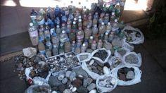 All'aeroporto di Cagliari Elmas ogni giorno decine di villeggianti di rientro vengono colti con bottiglie e sacchi pieni di souvenir fuori legge. Ora una