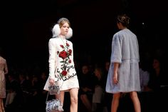 Dolce & Gabbana Fall 2015 Ready-to-Wear Fashion Show Atmosphere