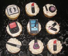 make up cupcake
