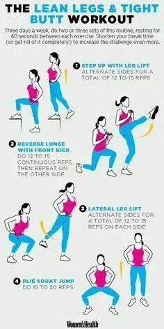 Lean Legs and Tight Butt Exercise