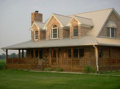 rustic house plans with wrap around porches   Our home. Wrap-around ...