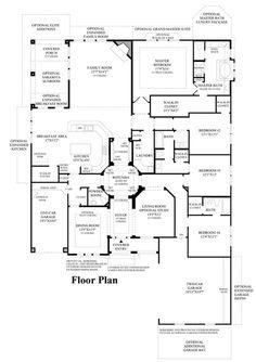 Arborglen Floor Plan  Note to self, build with lottery winnings!