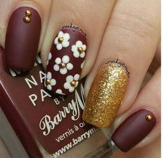 """– it's completely good for spring. The base is OPI """"Cajun Shrimp"""", a stunning pinkish-red coral-y color that i feel embodies spring rather well. It's lighter than true reds, and far additional pink in tone. Plus, it's an ideal base for these white and yellow daisies. Related Postscool summer nail art designs 2016very cute nail … … Continue reading →"""