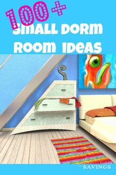 100  Small Dorm Room