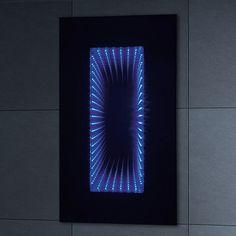 Phoenix Infiniti Motion Sensitive LED Mirror with Shaver Socket  https://www.djpeter.co.za  http://www.justleds.co.za