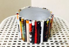 Storage case- Rolled paper basket!
