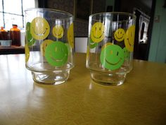 Pair of Vintage Smiley Face Happy Face Glasses in by MadGirlRetro