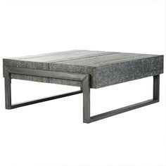Galvanized Steel Coffee Table