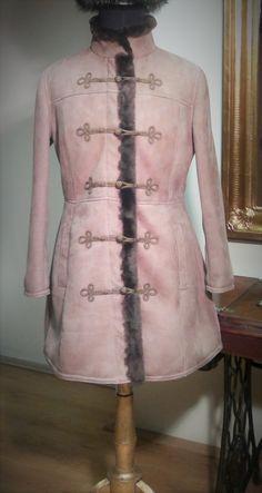 "Irha kabát, Lambskin  coat, Lammfell Jacke - ""Bocskai"" by GyulaKocsis on Etsy"