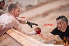 Toughmudder tips (this is a great pin, me having to click on it to read the text increases hits hehe!)