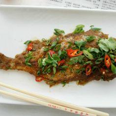 Crispy Thai Chilli Fish by SpiceGirl