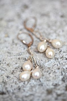 #earrings, #pearls