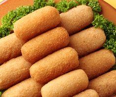 Des croquettes au jambon