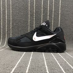 Buy Men Nike Air Max 180 x Off White Black White Nike Air Max 180 UK in the shop.We guarantee that the shoes you buy are authentic, and we also offer you free home delivery. Air Max 180, Off White, Black And White, Nike Men, Nike Air Max, Sneakers Nike, Unisex, Stuff To Buy, Shoes