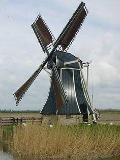 Polder mill De Hatsumermolen, Dronrijp / Hatsum, The Netherlands