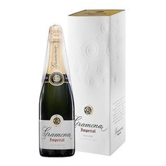 Cava Brut Imperial Gramona euros, available in elcorteingles . Amon, Trailers, Champagne, Cinema, Bottle, Wine, Yellow, Movie Theater, Movies