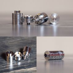 Mirror by Kato Available. 22mm ss rebuildable atomizer. Option to build and tank option to be on top or bottom. Come in check it out and one of our builders will show you how it works! Please call shop or email for pricing and info. #Padgram