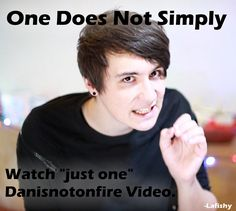 Danisnotonfire One Does Not Simply by Lafishy.deviantart.com on @deviantART