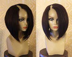 7A Cheap Human Hair U Part Wigs Real Hair Bob Wigs for African American Women #hair #brazilianhair #lacewigs #virginhair #kinkycurly #naturehair #naturalcurlyhair #laceclosure #hairproduct #indianhair #brazilianweave #brazilianbodywave