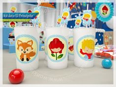 El Principito - Kit Decoracion Fiesta Imprimible Little Prince Party, The Little Prince, Prince Birthday Theme, Birthday Party Themes, Tsum Tsum Party, Baby Party, Baby Boy Shower, Party Planning, Party Time