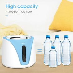 Features: Size:20*20*15.6(H)cm Material:ABS Capacity: 2L Easy to install and easy to clean. Portable, convenient, light. Hand held ease Easy to pick up on both sides Easy to disassemble Suitable for dog, cat Specifications Suitable for: cats and dogs Color: Pink, Blue,White Size:20*20*15.6(H)cm Material:ABS Capacity: 2L Notice: Due to the different monitor and light effect,the actual color maybe a slight different from the picture color. Please allow 2-3mm differs due to manual measurement… Dog Feeder Automatic, Dog Water Fountain, Dog Grooming Clippers, Pink Blue, Blue And White, Water Dispenser, Pet Bowls, Light Effect, Doge