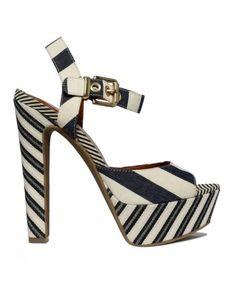 Jessica Simpson ~ Navy Stripe ~ from Macy's!