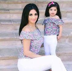 Camisas Y Vestidos Hombros Afuera Madre E Hija. - Bs. 25.990,00