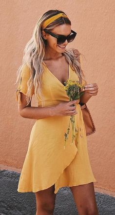 #summer #outfits  Dream Girl @mariellelindahl In Our Fave Dress Of The Summer