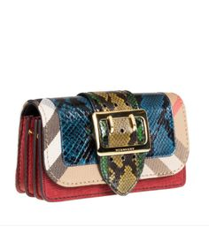 c0840713579f The Patchwork Burberry bag. Grained calf leather
