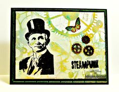 Stamps - Artistic Outpost Hat's Off, SteamPunk