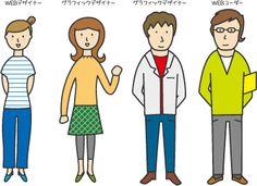 Illustration HUMAN Character by FLOP DESIGN, via Flickr
