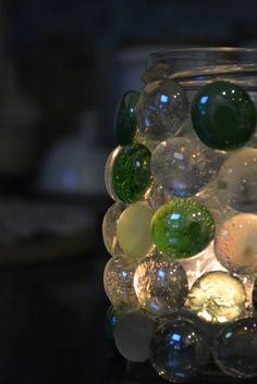 Glittering Shards | Children's mosaic tea light holder (& tip for 3d work)