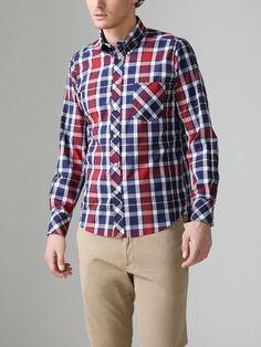Button Down Heritage Check Shirt by Ben Sherman on Gilt
